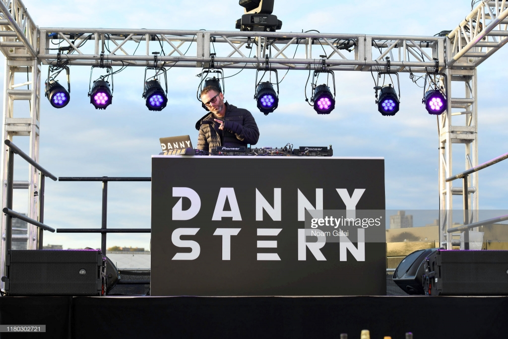 NEW YORK, NEW YORK - OCTOBER 10: Danny Stern DJs during Elvis Duran's Taste of New York presented by Intrinsic Wines hosted by Elvis Duran and the Z100 Morning Show at Food Network & Cooking Channel New York City Wine & Food Festival presented by Capital One at Pier 97 on October 10, 2019 in New York City. (Photo by Noam Galai/Getty Images for NYCWFF)